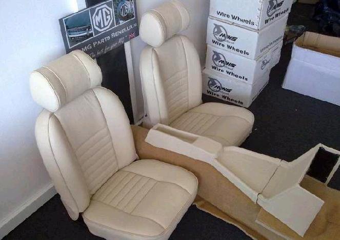 Magnifiek Uw stoelen opnieuw laten bekleden? - MG Parts Benelux &MJ14