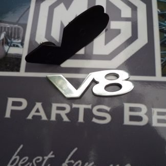 V8 badge logo