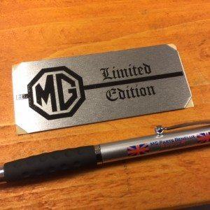 LMG1085 dash limited edition