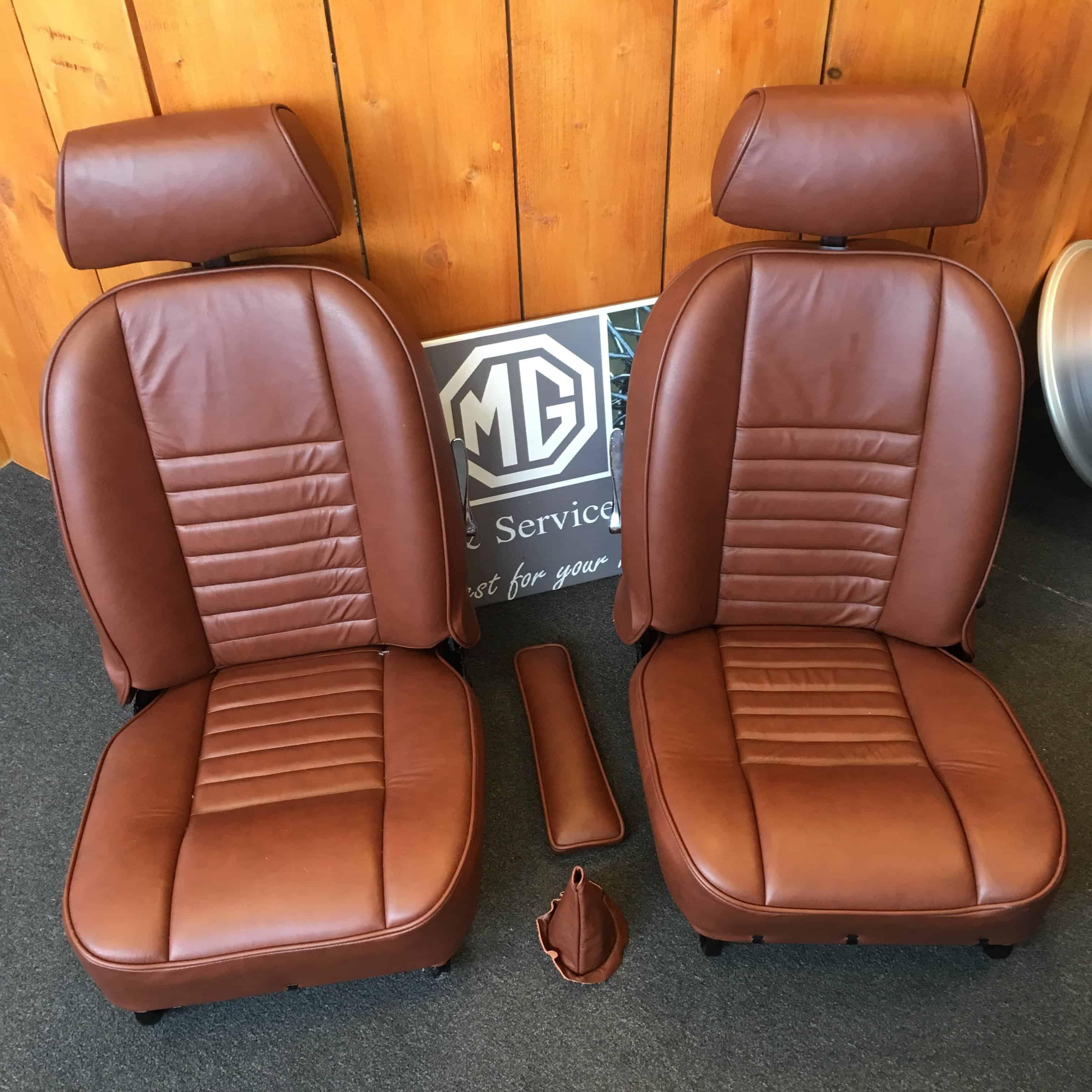 Lederen stoelen mg parts benelux for Lederen stoelen